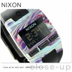【あす着】ニクソン コンプ メンズ 腕時計 A4082151 nixon マーブルドマルチ/ブラック