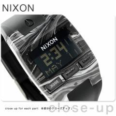【あす着】ニクソン コンプ メンズ 腕時計 A4082193 nixon マーブルドブラック/ホワイト