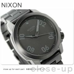 ニクソン nixon レンジャー 40 クオーツ 腕時計 A468632 nixon オールブラック