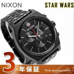 【あす着】ニクソン スターウォーズ カイロ タイムテラー クロノグラフ A972SW2444 腕時計 ブラック