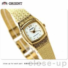 オリエント 海外モデル レディース 腕時計 クオーツ FUBLR005W ORIENT ホワイト×ゴールド