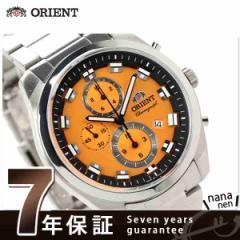 【あす着】オリエント ネオセブンティーズ メンズ 腕時計 WV0511TT ORIENT クオーツ ビッグケース ライトオレンジ