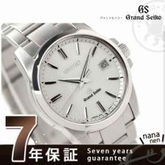 グランドセイコー クオーツ 腕時計 メンズ ホワイト GRAND SEIKO SBGX053