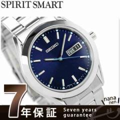セイコー 限定モデル スピリット スマート メンズ SCEC015 SEIKO SPIRIT SMART 腕時計 クオーツ ネイビー