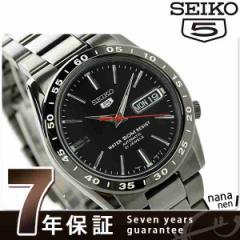 【あす着】SEIKO 逆輸入 海外モデル セイコー5 自動巻き SNKE03K1(SNKE03KC) メンズ 腕時計 オールブラック