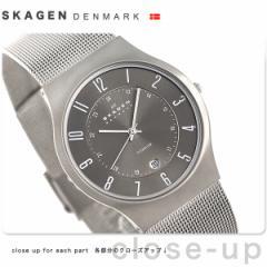 【あす着】スカーゲン SKAGEN 腕時計 チタニウム メンズ 233XLTTM