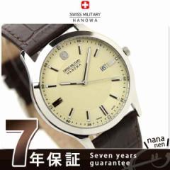【あす着】スイスミリタリー SWISS MILITALY メンズ 腕時計 ELEGANT PREMIUM クリーム ML306