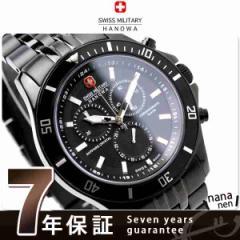スイスミリタリー メンズ 腕時計 フラッグシップ クロノグラフ オールブラック SWISS MILITARY ML333