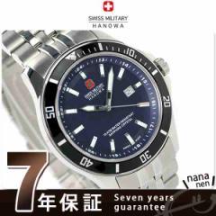 スイスミリタリー メンズ 腕時計 フラッグシップ デイト ブルー SWISS MILITARY ML338