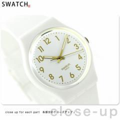 【あす着】スウォッチ スタンダードジェント ホワイト・ビショップ GW164 swatch 腕時計 ホワイト