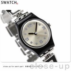 【あす着】スウォッチ スタンダードレディース スイス製 腕時計 シルバー×マルチカラー Swatch LB160G