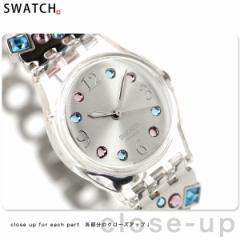 【あす着】Swatch スウォッチ スイス製 腕時計 メンソール・トーン LK292G