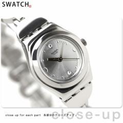 【あす着】Swatch スウォッチ スイス製 腕時計 アイロニー レディ ディープストーンズ YSS213G