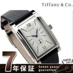【あす着】ティファニー グランド スモールセコンド メンズ 腕時計 Z0030.13.10A21A40A TIFFANY&Co. シルバー×ブラック サテ