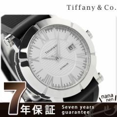 ティファニー アトラス ジェント 42mm 自動巻き メンズ 腕時計 Z1000.70.12A21A91A TIFFANY&Co. シルバー×ブラッ