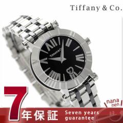 ティファニー アトラス 30mm レディース 腕時計 Z1300.11.11A10A00A TIFFANY&Co. クオーツ ブラック メタルベルト