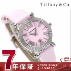 ティファニー アトラス 30mm レディース 腕時計 Z1300.11.11A31A41A TIFFANY&Co. クオーツ ピンク サテンレザー 新
