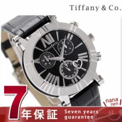 ティファニー アトラス クロノグラフ 36mm レディース 腕時計 Z1301.32.11A10A71A TIFFANY&Co. クオーツ ブラック