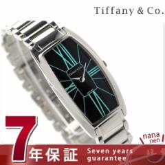 ティファニー ジェメア ラージ 22mm レディース 腕時計 Z6401.10.10A19A00A TIFFANY&Co. クオーツ ブラック メタル