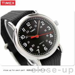 タイメックス ウィークエンダー セントラルパーク 38mm T2N647 腕時計 TIMEX ブラック