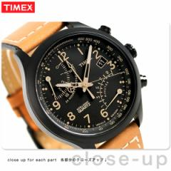 【あす着】タイメックス インテリジェント クオーツ クロノグラフ メンズ T2N700 腕時計 TIMEX ブラック