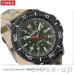 タイメックス エクスペディション カモ アップランダー T49965 TIMEX メンズ 腕時計 クオーツ グリーン