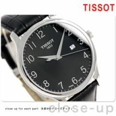 ティソ T-クラシック トラディション 42mm メンズ 腕時計 T063.610.16.052.00 TISSOT ブラック