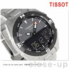 【あす着】ティソ T-タッチ エキスパート ソーラー 45mm メンズ 腕時計 T091.420.44.081.00 TISSOT グレー×ブラック