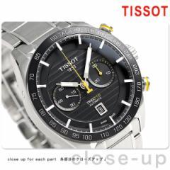 【あす着】ティソ T-スポーツ PRS 516 オートマチック クロノグラフ T100.427.11.051.00 TISSOT 腕時計 ブラック