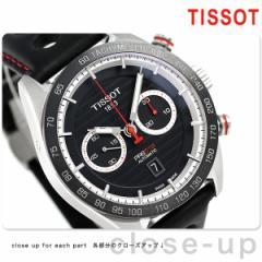【あす着】ティソ T-スポーツ PRS 516 オートマチック クロノグラフ T100.427.16.051.00 TISSOT 腕時計 ブラック