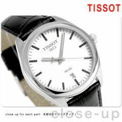 ティソ T-クラシック PR 100 39mm メンズ 腕時計 T101.410.16.031.00 TISSOT シルバー×ブラック