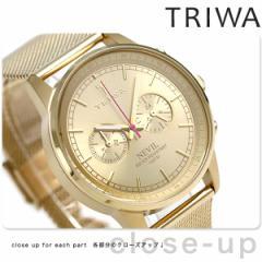 【あす着】トリワ TRIWA ネビル ゴールド 40mm 腕時計 NEST104-ME021313 ゴールド