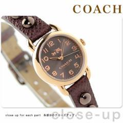 コーチ デランシー クオーツ レディース 腕時計 14502409 COACH ブラックチェリー