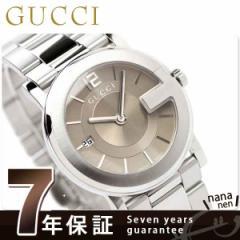 【あす着】グッチ 時計 メンズ Gラウンド ブラウン GUCCI YA101408