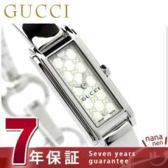グッチ 時計 レディース Gライン ホワイトシェル GUCCI YA109531
