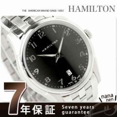 ハミルトン クオーツ ジャズマスター シンライン メンズ H38511133 HAMILTON 腕時計 Jazzmaster Thinline メタル ブラック