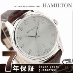 【あす着】ハミルトン クオーツ ジャズマスター シンライン メンズ H38511553 HAMILTON 腕時計 Jazzmaster Thinline ブラウンレザー シル