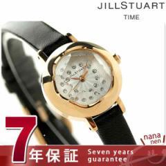ジルスチュアート リング レザー レディース 腕時計 SILDB005 JILLSTUART_ シルバー×ブラック