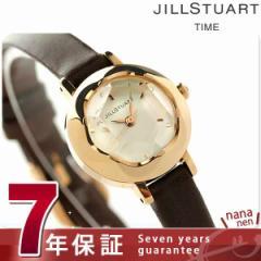 ジルスチュアート リング レザー レディース 腕時計 SILDB006 JILLSTUART_ ホワイト×ダークブラウン