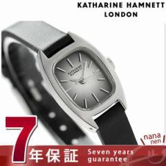 キャサリン ハムネット 日本製 レディース 腕時計 KH00F5-34 KATHARINE HAMNETT シックスティーズ スウィング クオーツ ブラック レザー