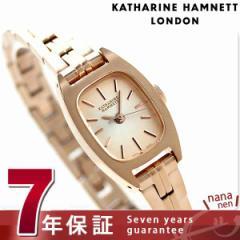 【あす着】キャサリン ハムネット 日本製 レディース 腕時計 KH07F6-B44 KATHARINE HAMNETT シックスティーズ スウィング クオーツ ピン
