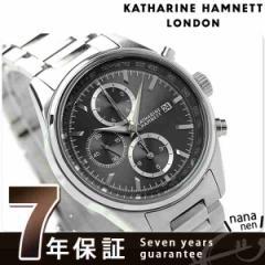 キャサリン ハムネット クロノグラフ 7 日本製 メンズ KH20C9-B24 KATHARINE HAMNETT 腕時計 クオーツ グレー