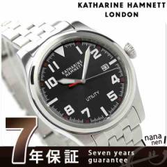 【あす着】キャサリン ハムネット ミリタリー 日本製 メンズ KH20D7-B39 KATHARINE HAMNETT 腕時計 クオーツ ブラック