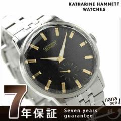 【あす着】キャサリン ハムネット 日本製 スモールセコンド KH20F7B34 KATHARINE HAMNETT メンズ 腕時計 カッティングエッジ メタルブレ