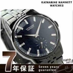 キャサリン ハムネット 日本製 スモールセコンド KH23F8B64 KATHARINE HAMNETT メンズ 腕時計 カッティングエッジ メタルブレスレット ク