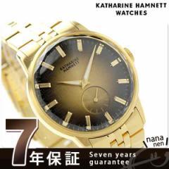 キャサリン ハムネット 日本製 スモールセコンド KH28F7B84 KATHARINE HAMNETT メンズ 腕時計 カッティングエッジ メタルブレスレット ク