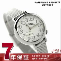 キャサリン ハムネット スモールセコンド ベイビー 日本製 KH70F9-B11 KATHARINE HAMNETT レディース 腕時計 クオーツ シルバーホワイト