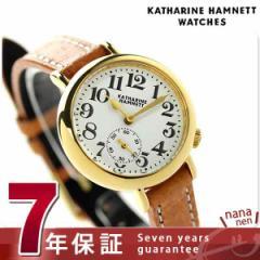 キャサリン ハムネット スモールセコンド ベイビー 日本製 KH78F9-01 KATHARINE HAMNETT レディース 腕時計 クオーツ ホワイト×ライトブ