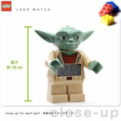 【あす着】レゴクロック 目覚まし時計 スターウォーズ ヨーダ 9003080