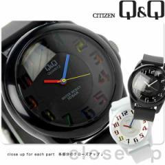 シチズン Q&Q カラーウォッチ クオーツ 腕時計 VR46 CITIZEN 選べるモデル